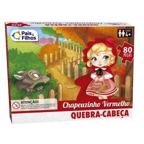 Quebra Cabeça  80Peças - Chapeuzinho Vermelho