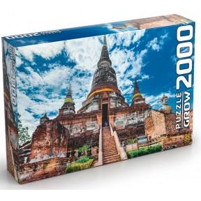 Quebra Cabeça  2000 Peças Templo Tailandês