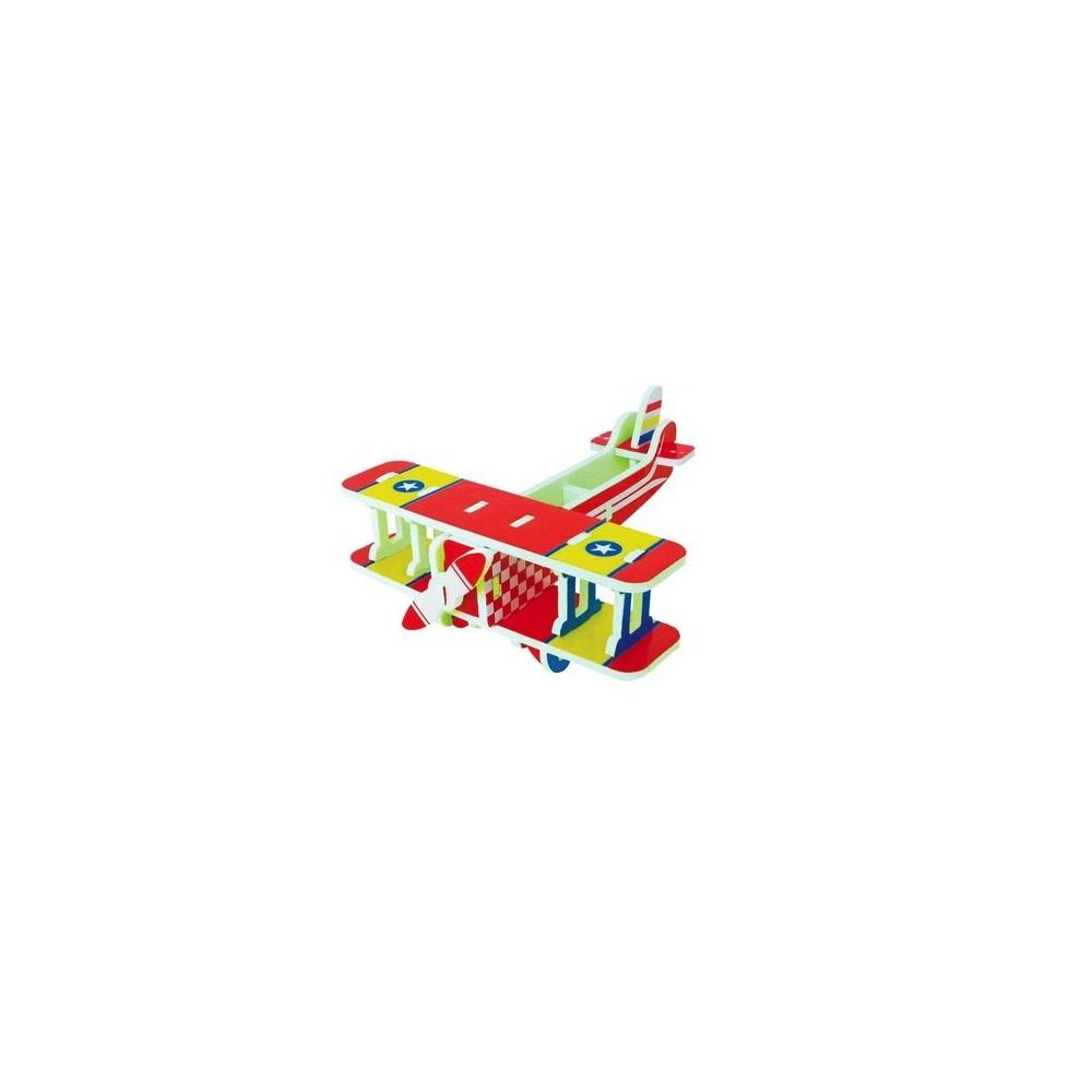 QC 3D EVA Avião Vintage