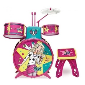 Barbie Bateria Infantil Fabulosa