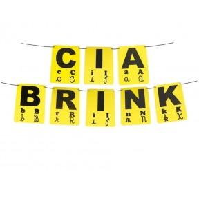 Varal de Letras 26 Peças em EVA - Ciabrink