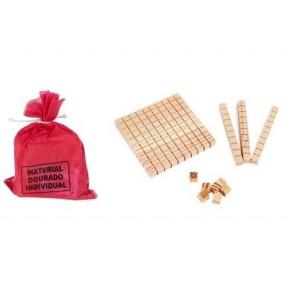 Material Dourado Saco 111pçs