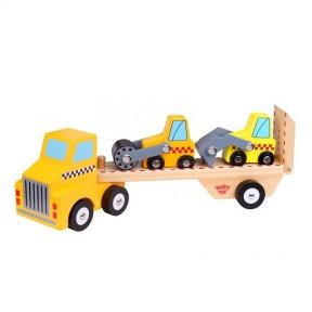 Caminhão com Tratores - Tooky Toy