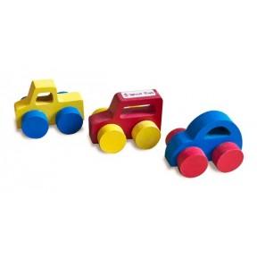 Conjunto de Mini Carros