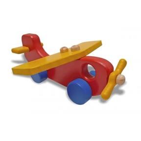 Avião Colorido Woodtoys