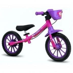 Bicicleta Balance Bike Feminina Nathor