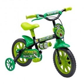 Bicicleta Aro 12 Black 12 - Nathor