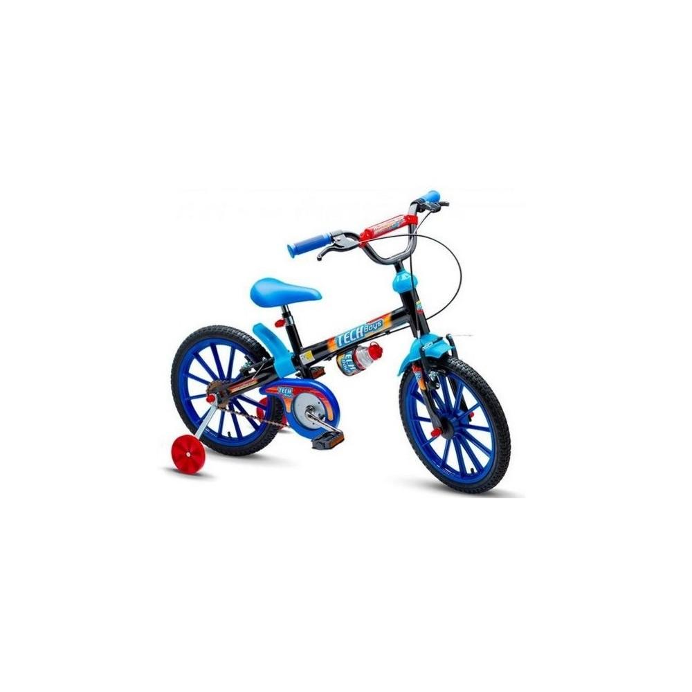 Bicicleta Aro 16 Tech Boys