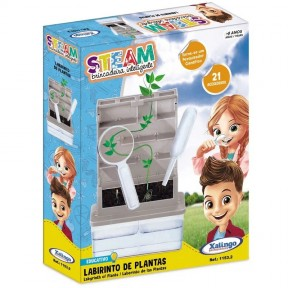 Labirinto de Plantas STEAM