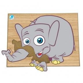 Super Quebra Cabeça - Elefante