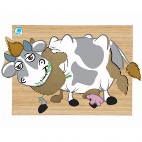 Super Quebra Cabeça - Vaca