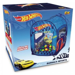 Hot Wheels Barraca Infantil c/50 Bolinhas