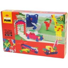 Plus Plus Mini Neon 3 em 1 - 480 Peças