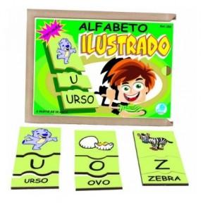 Alfabeto Ilustrado em Português - Simque