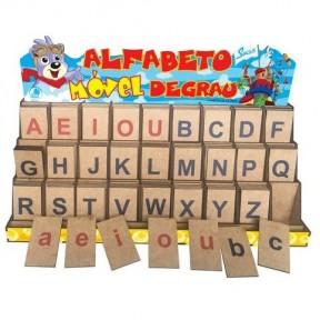 Alfabeto Móvel Degrau Forma - Simque