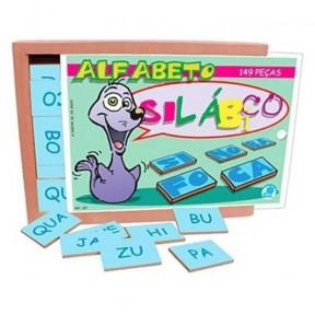 Alfabeto Silábico com 149 Peças - Simque