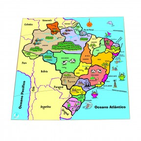 QC Mapa - Estados - Simque