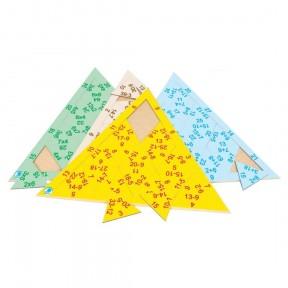 Quebra Cabeça Triangular Subtração - Simque