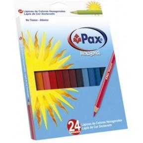 Lápis Pax 24 Cores