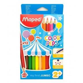Lápis de Cor Color' Peps Jumbo