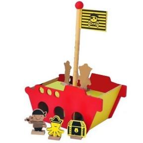 Navio Pirata-Bem Infantil