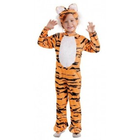 Fantasia Tigre PP 1 a 2 Anos