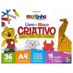 Livro + Bloco Criativo Origami