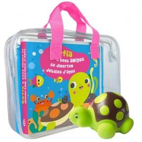 Sofia e seus Amigos se divertem debaixo d'água