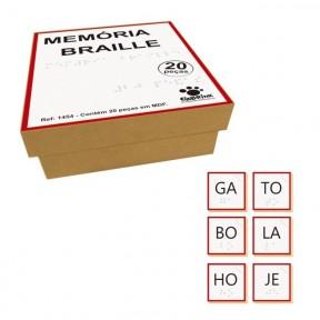 Memória Sílabas Braille
