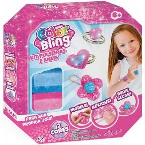 Color Bling - Kit Pulseiras e Anéis