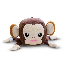 Esponja de banho - Macaco