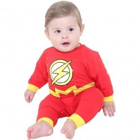 Fantasia Bebê Macacão Flash P