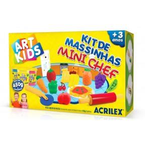 Kit de massinha Mini Chef