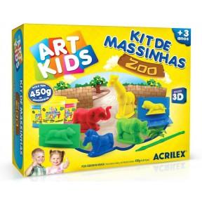 Kit de massinha Zoo