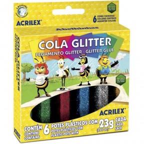 Cola Glitter 6 cores