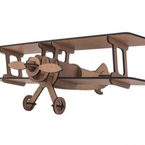 Quebra Cabeça 3D Avião Pasiani